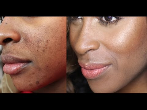"Cover Blemishes/faux ""mustache"" Fast W/ Less Product!"