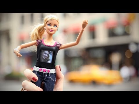 There's a Camera in This Barbie Doll