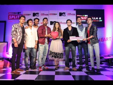 Sunny Leone & Rannvijay Singh At Launch Of MTV Splitsvilla 8