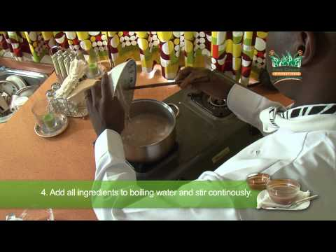 Enriched Porridge Recipe - African Traditional Foods