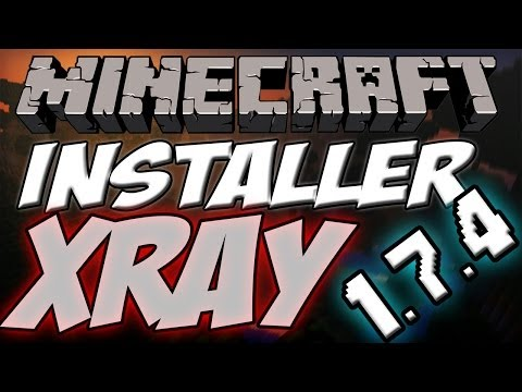 comment installer le mod x-ray