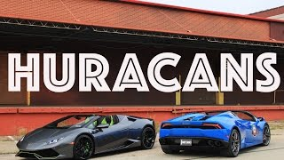 TWO Lamborghini Huracan Spyders: The Super Storm meets Thunderstorm by DoctaM3's Supercars Personified