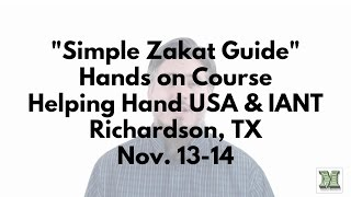Richardson (TX) United States  City pictures : Zakat Couse - Richardson, TX with Helping Hand USA