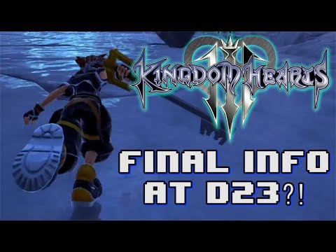 KINGDOM HEARTS 3 FINAL INFORMATION AT D23?!