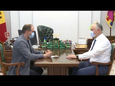 Игорь Додон провел рабочую встречу с Ионом Чебаном