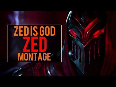 Zed Is God Montage   Best Zed Plays [IRIOZVN]