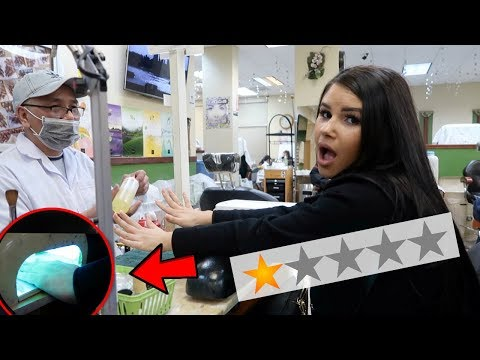 GOING TO THE WORST REVIEWED NAIL SALON IN MY CITY!!!