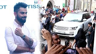 Video Virat Kohli's GRAND ENTRY At Phoenix Mall In Mumbai To Launch Tissot's New Store MP3, 3GP, MP4, WEBM, AVI, FLV Agustus 2018