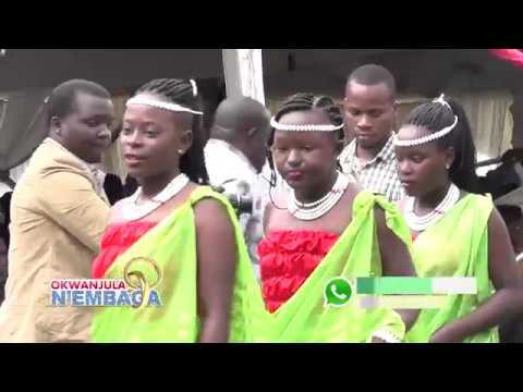OKWANJULA N'EMBAGA - OKWANJULA KWA CATHERINE KUSASIRA MUBUJJUVU prt AA.