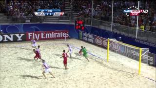 Tahiti Vs USA - FIFA Beach Soccer World Cup 2013
