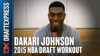 Dakari Johnson - 2015 Pre-Draft Workout & Interview - DraftExpress