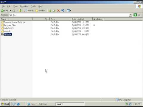 Sysprep VM Part 1 - Windows Server 2003