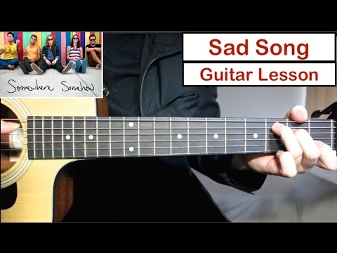 We The Kings – Sad Song | Guitar Lesson (Tutorial) How to play Chords