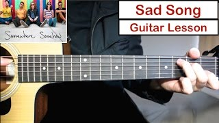 Video We The Kings - Sad Song | Guitar Lesson (Tutorial) How to play Chords MP3, 3GP, MP4, WEBM, AVI, FLV April 2018