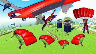 Video TABS - Incredible PARADROP To Take Over the Military Base in Totally Accurate Battle Simulator! MP3, 3GP, MP4, WEBM, AVI, FLV September 2019