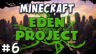 Minecraft - The EDEN Project, Part 6 - Playing with Lava