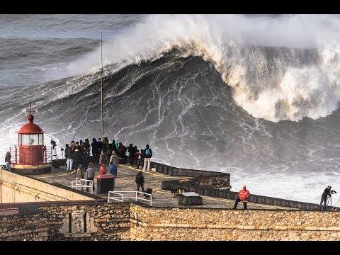 Nazaré - Big Sunday: As Big as it Gets! (2014/Feb/02) (видео)