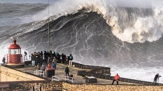 Nazare Portugal  city photos gallery : Nazaré - Big Sunday: As Big as it Gets! (2014/Feb/02)