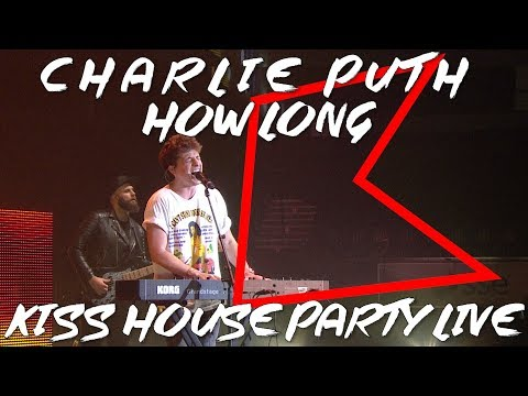 Video Charlie Puth - How Long (LIVE)   KISS House Party Live download in MP3, 3GP, MP4, WEBM, AVI, FLV January 2017