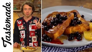Holiday French Toast l The Tastemakers- Frankie Celenza by Tastemade