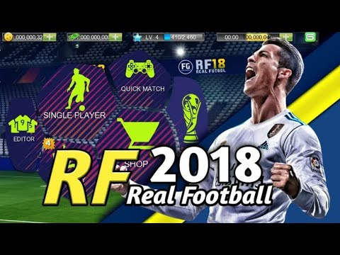 Real Football 2018 Mod Android + Offline [500MB] HD Graphics