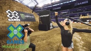 How does X Games host Jack Mitrani and co-host Dianna Dahlgren prepare for X Games Minneapolis 2017? Find out right here!SUBSCRIBE ► http://xgam.es/YouTube X Games has been spreading the shred in action sports since 1995. For more coverage and highlights visit our official homepage at http://xgames.com---------Twitter ► https://twitter.com/xgamesFacebook ► https://www.facebook.com/XGamesInstagram ► https://instagram.com/xgames --------- Thanks for watching X Games!