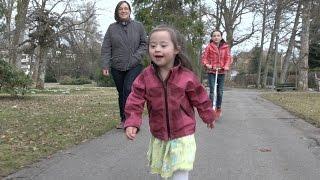 Pia - Adoptivkind mit Downsyndro,