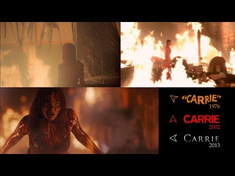 Carrie 1976/2002/2013 Side-by-Side-by-Side Comparison