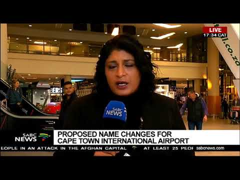 Western Cape: Public Participates In Cape Town Airport Name Change