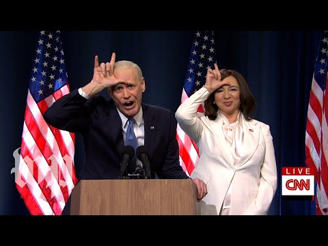 SNL Recap   Jim Carrey, Maya Rudolph celebrate Biden win, while Trump claims 'rigged election'