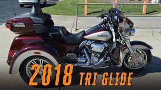 7. 2018 Harley-Davidson FLHTCUTG Tri Glide Greensboro Winston-Salem Burlington Raleigh Charlotte