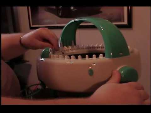 Innovations Knitting Machine: Brim of Hat PART 1