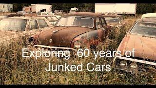 Video Junkyard Gems! Checking 60 years of classic cars stashed in a scrapyard MP3, 3GP, MP4, WEBM, AVI, FLV Februari 2019