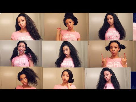 9 EASY HAIRSTYLES FOR A 360 LACEFRONT WIG FT DYHAIR777