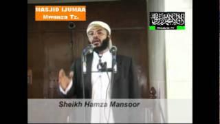 Khutba Ya Ijumaa Mada Uharam wa Kula Riba Prt 1 Sheikh Hamza Masoor By Ahlusuna TV Mwanza Tz..avi