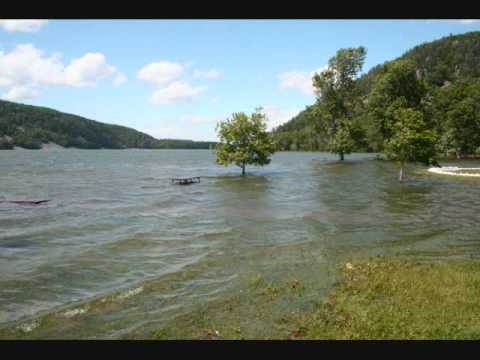 Devil's Lake State Park - 2008 June 10 Flooding - Baraboo WI