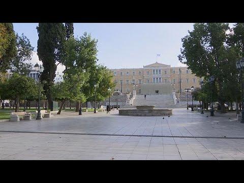 Griechenland: Wegen Corona-Pandemie im Lockdown