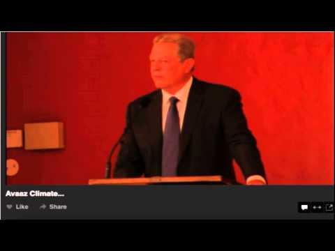 Jesus - From Al Gore's talk before Avaaz on September 18, 2014.