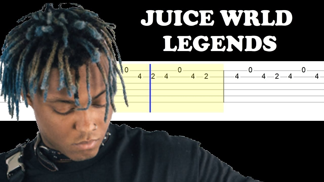 Juice Wrld – Legends (Easy Guitar Tabs Tutorial)