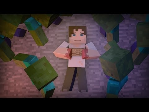 """Running Out Of Time"" A Minecraft Song Parody Of ""Say Something"""