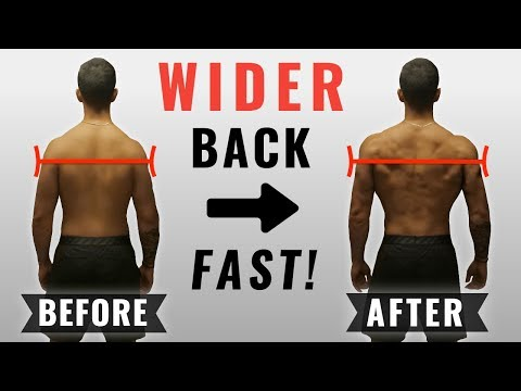 How to get a WIDER Back FAST (4 Science-Based Tips)