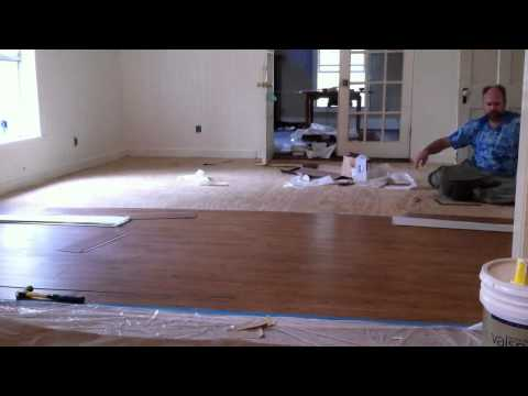 Flooring Installation – Time Lapse