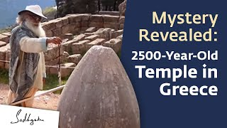 Delphi Greece  city images : Delphi, Greece, A Temple Built by Yogis - Sadhguru