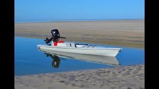 Fishing kayak on steroids