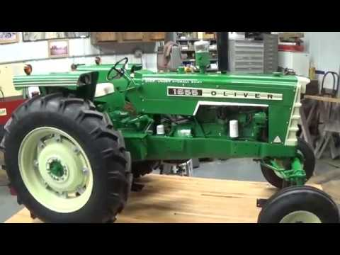 Oliver 1655 1/2 size custom tractor