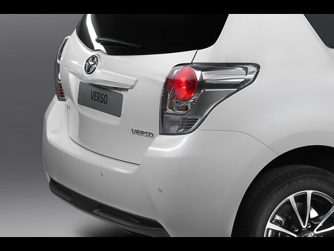 TOYOTA VERSO 2013 Review Outside & Inside