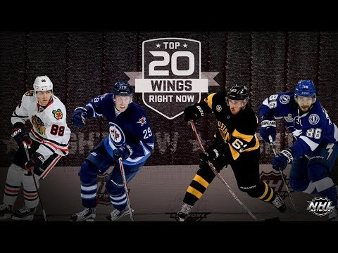 NHL Networks Top 20 Wings Right Now   Aug 19, 2018