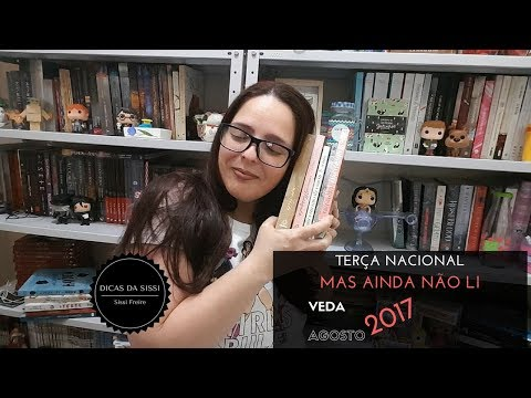 VEDA #22 - Terça Nacional - Novos Livros Nacionais na Estante | Dicas da Sissi