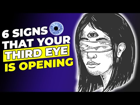 6 SIGNS THAT YOUR THIRD EYE IS OPENING