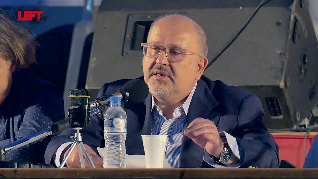 Ο ρόλος των ανθρώπων του πολιτισμού -Νίκος Ξυδάκης